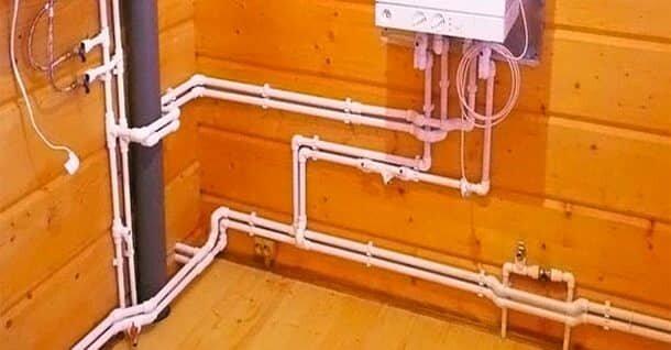 Как сделать отопление дома с пластиковых труб
